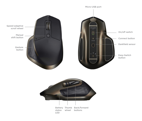 Logitech MX Mice